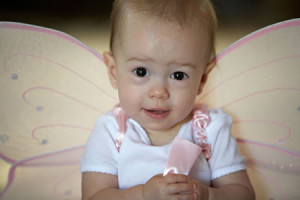 baby, lifestyle, fairy wings, princess